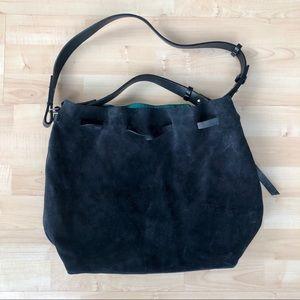 🛍 SALE! Zara Suede Bag